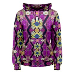 rose mandala  Women s Pullover Hoodies