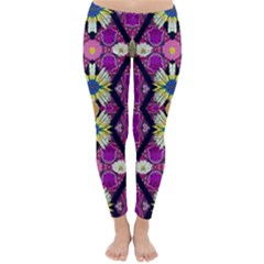Rose Mandala  Winter Leggings