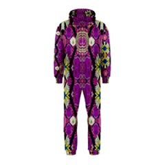 Rose Mandala  Hooded Jumpsuit (kids)