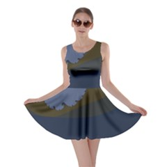 Ocean Waves Skater Dresses