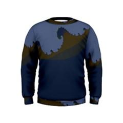 Ocean Waves Boys  Sweatshirts
