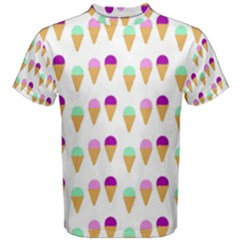 Icecream Cones Men s Cotton Tees
