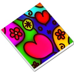 Colorful Modern Love 2 Small Memo Pads