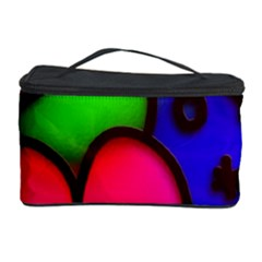 Colorful Modern Love 2 Cosmetic Storage Cases