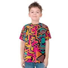 Colorful shapes Kid s Cotton Tee