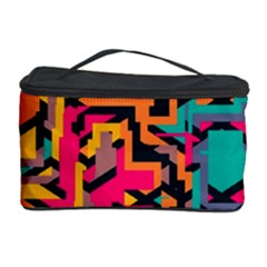 Colorful Shapes Cosmetic Storage Case