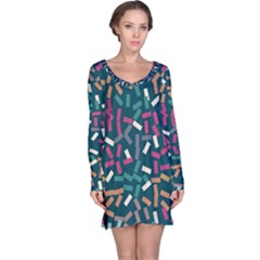 Floating Rectangles Nightdress