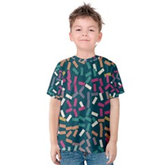 Floating rectangles Kid s Cotton Tee