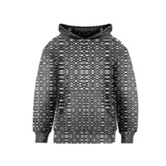 Black And White Geometric Tribal Pattern Kid s Pullover Hoodies