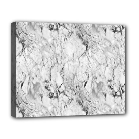 White Marble Deluxe Canvas 20  x 16