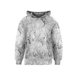 White Marble Kid s Pullover Hoodies