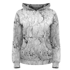 White Marble Women s Pullover Hoodies