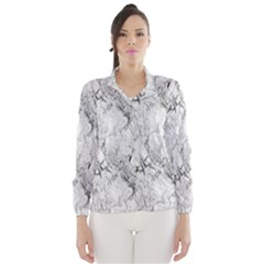 White Marble Wind Breaker (Women)