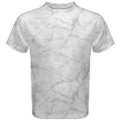 White Marble 2 Men s Cotton Tees