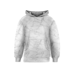 White Marble 2 Kid s Pullover Hoodies