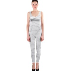 White Marble 2 OnePiece Catsuits