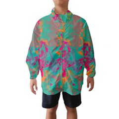 Fading circles Wind Breaker (Kids)