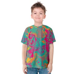 Fading circles Kid s Cotton Tee