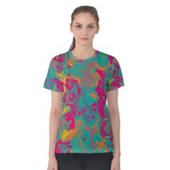 Fading circles Women s Cotton Tee