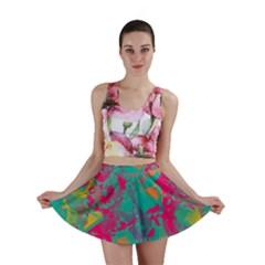 Fading Circles Mini Skirt
