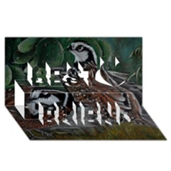 Bobwhite Quails Best Friends 3d Greeting Card (8x4)