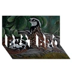 Bobwhite Quails Best Bro 3d Greeting Card (8x4)