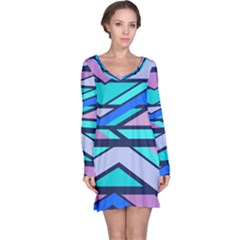 Angles and stripes nightdress