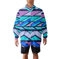 Angles and stripes Wind Breaker (Kids)