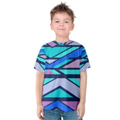 Angles And Stripes Kid s Cotton Tee