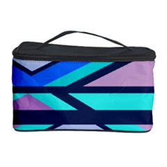 Angles and stripes Cosmetic Storage Case