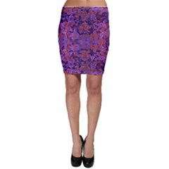 Intricate Patterned Textured Bodycon Skirts