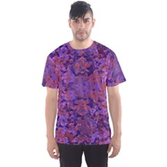 Intricate Patterned Textured Men s Sport Mesh Tees