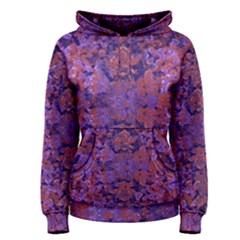 Intricate Patterned Textured Women s Pullover Hoodies
