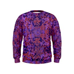 Intricate Patterned Textured Boys  Sweatshirts