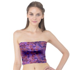 Intricate Patterned Textured Women s Tube Tops