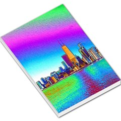 Chicago Colored Foil Effects Large Memo Pads