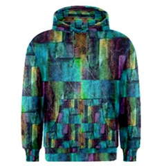 Abstract Square Wall Men s Pullover Hoodies