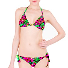 Colorful Leaves Bikini Set