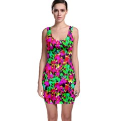 Colorful Leaves Bodycon Dresses