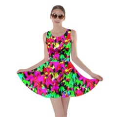 Colorful Leaves Skater Dresses