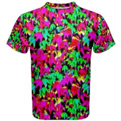 Colorful Leaves Men s Cotton Tees