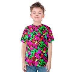 Colorful Leaves Kid s Cotton Tee