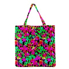 Colorful Leaves Grocery Tote Bags