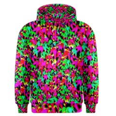 Colorful Leaves Men s Zipper Hoodies