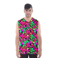 Colorful Leaves Men s Basketball Tank Top