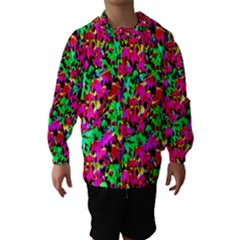 Colorful Leaves Hooded Wind Breaker (Kids)