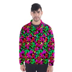 Colorful Leaves Wind Breaker (Men)