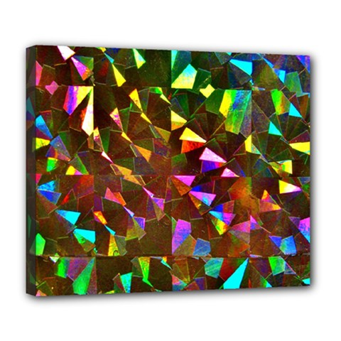 Cool Glitter Pattern Deluxe Canvas 24  x 20