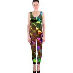 Cool Glitter Pattern Onepiece Catsuits