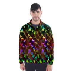 Cool Glitter Pattern Wind Breaker (men)
